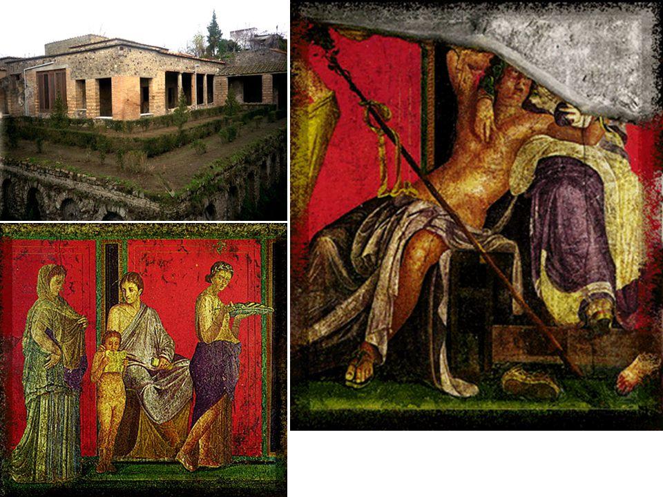 Roman, Villa of the Mysteries, Pompeii, 60-50 BCE