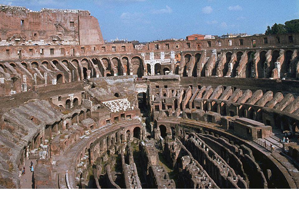 Colosseum, Rome, 70-80 CE
