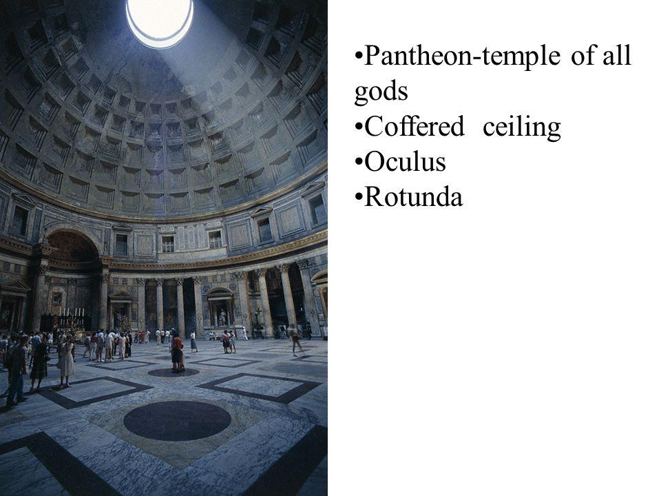 Pantheon, Rome, 118-128 CE