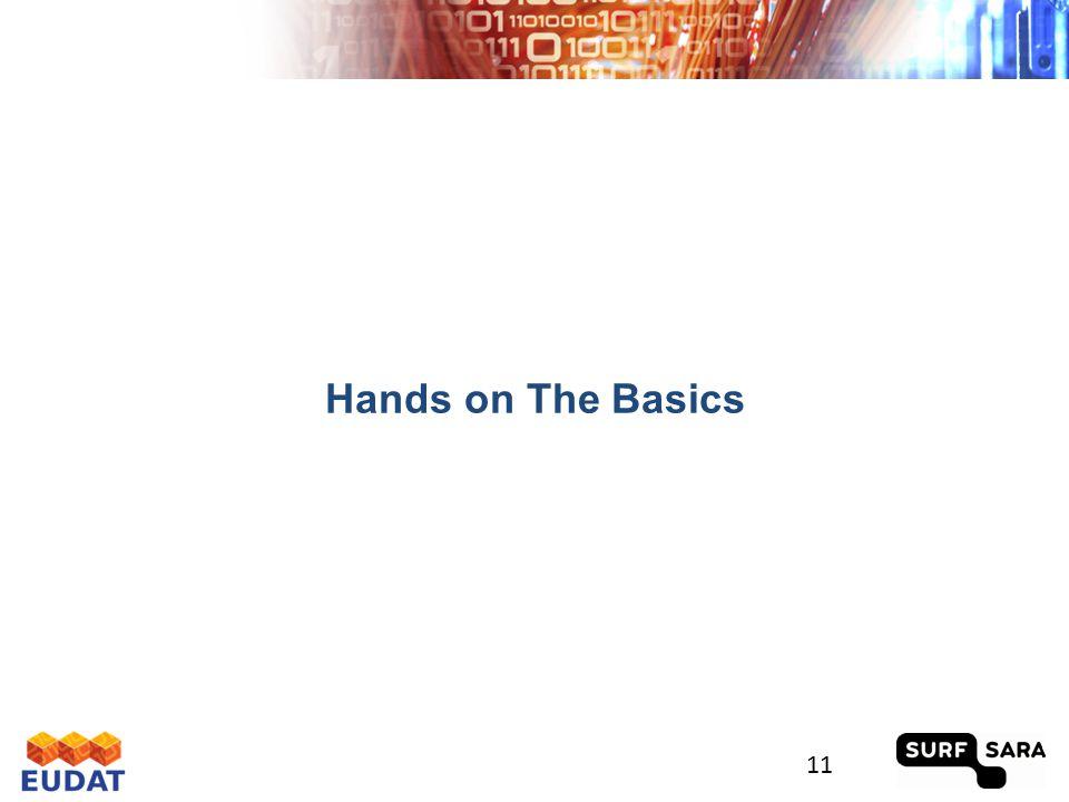Hands on The Basics 11