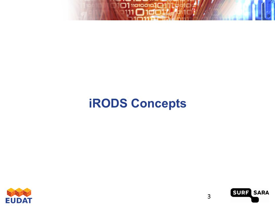 iRODS Concepts 3