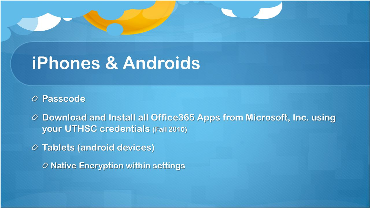 iPhones & Androids Passcode Download and Install all Office365 Apps from Microsoft, Inc.