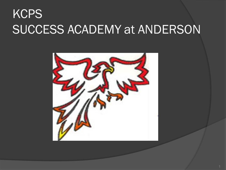KCPS SUCCESS ACADEMY at ANDERSON 1