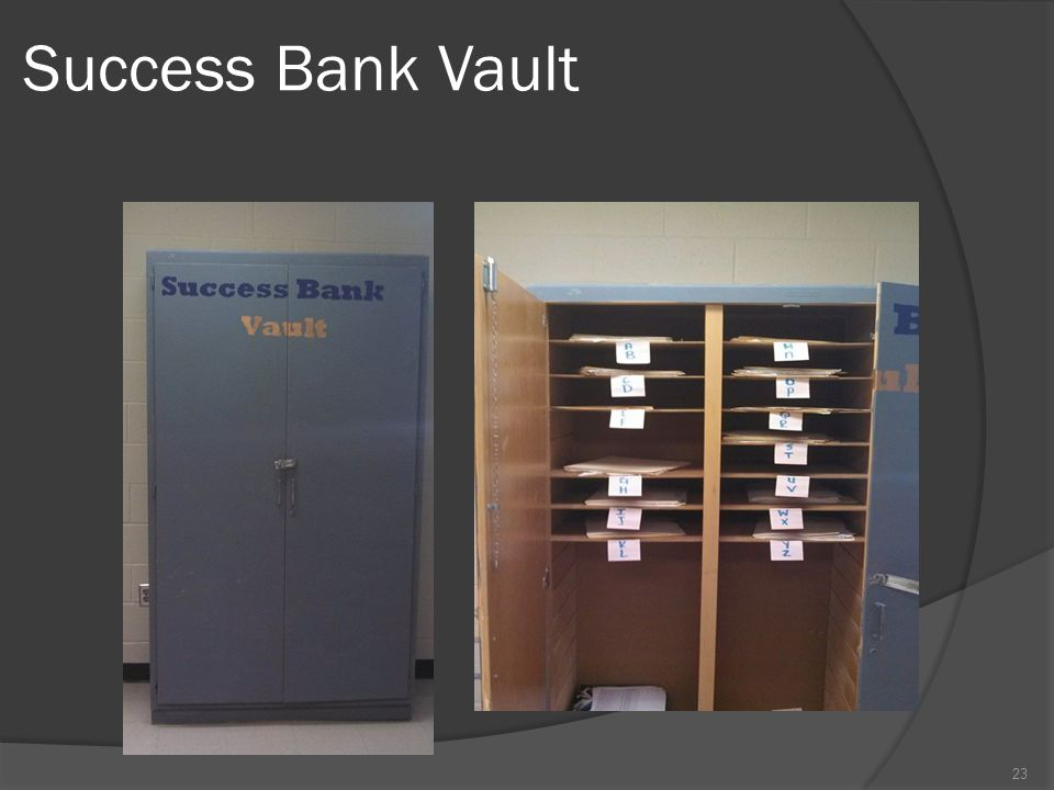 Success Bank Vault 23