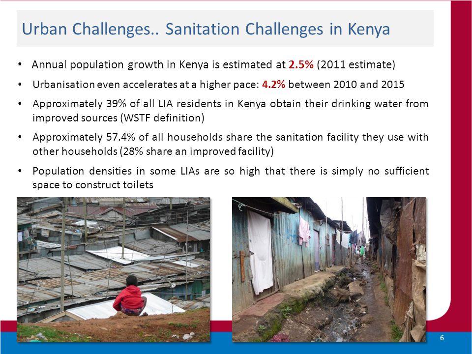 Urban Challenges..
