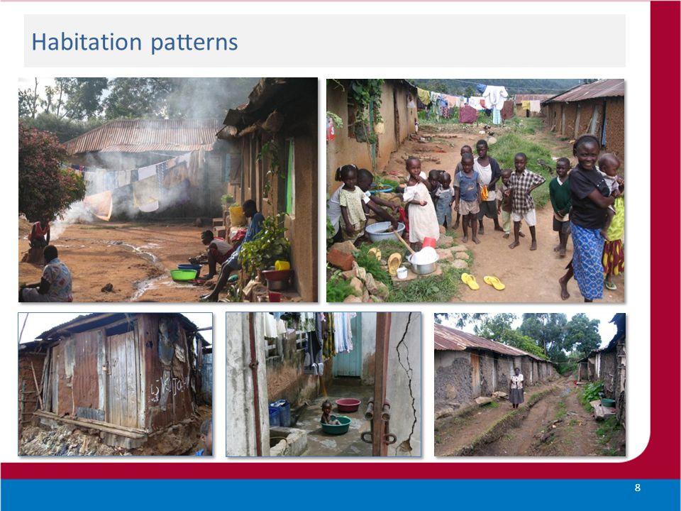 Habitation patterns 8