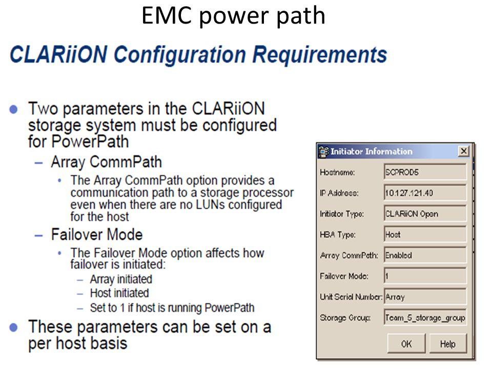 EMC power path
