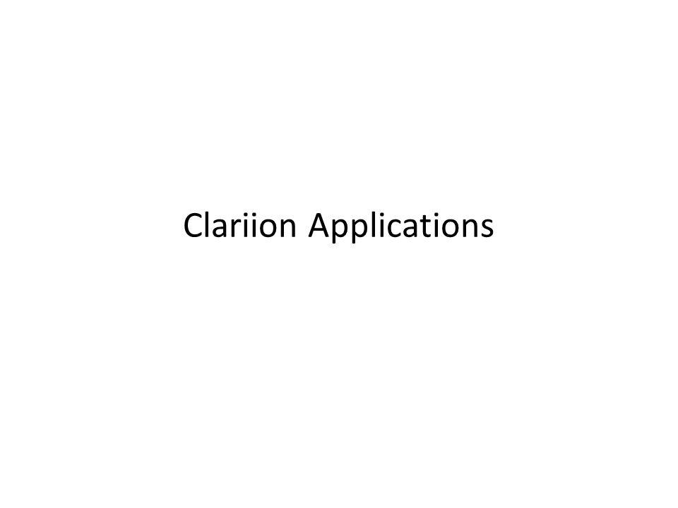 Clariion Applications