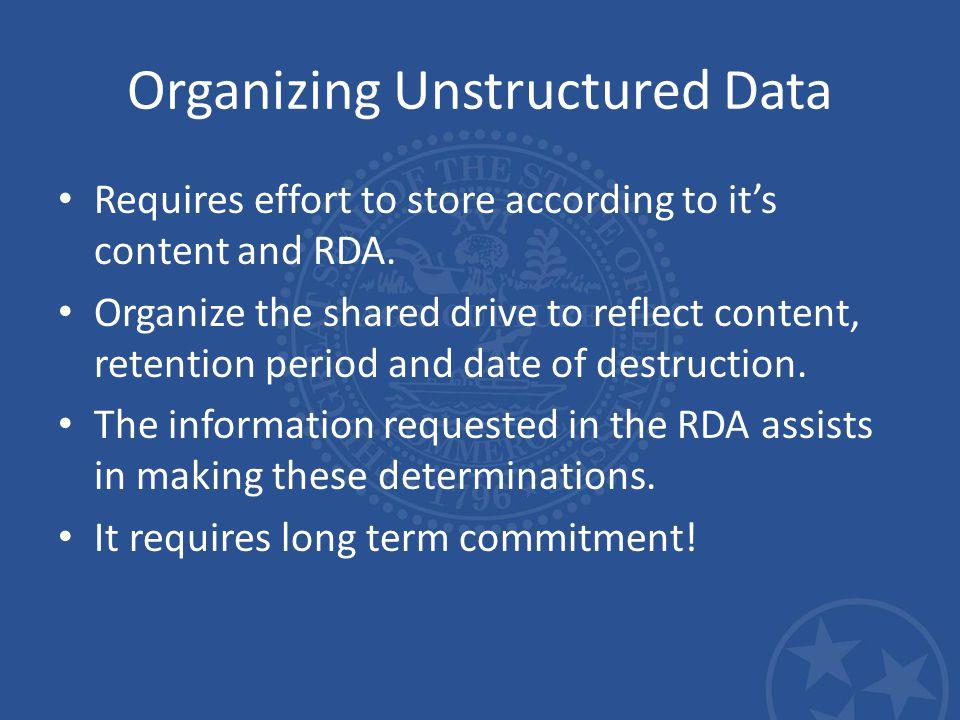 Destruction/Deletion Destroying digital information is more difficult than it seems.