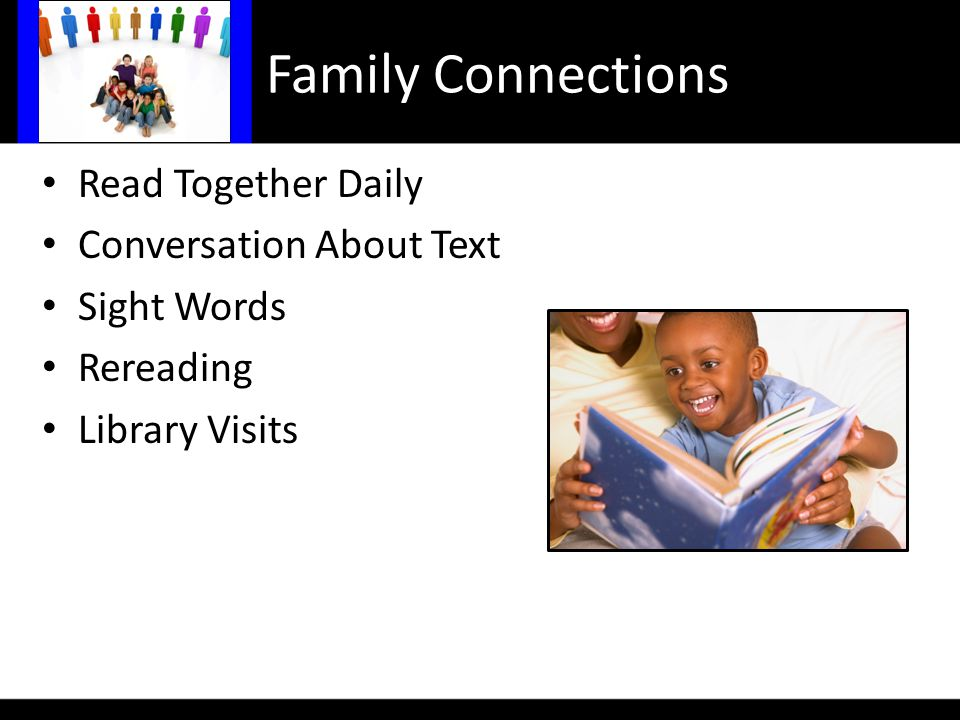 Read Together Daily Conversation About Text Sight Words Rereading Library Visits Family Connections