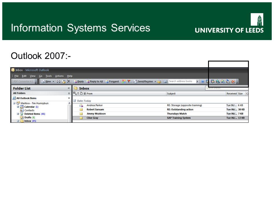 Information Systems Services Outlook 2007:-