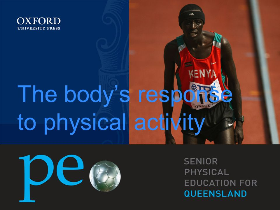 The body's response to physical activity