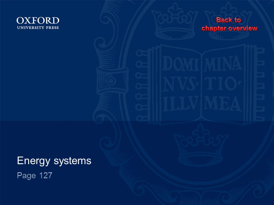 Energy systems Page 127