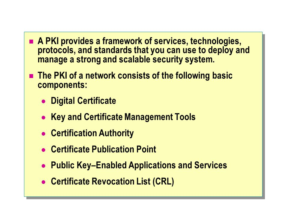 Planning Certificate Renewal An issuing CA issues certificates directly to users, rather than to other CAs.
