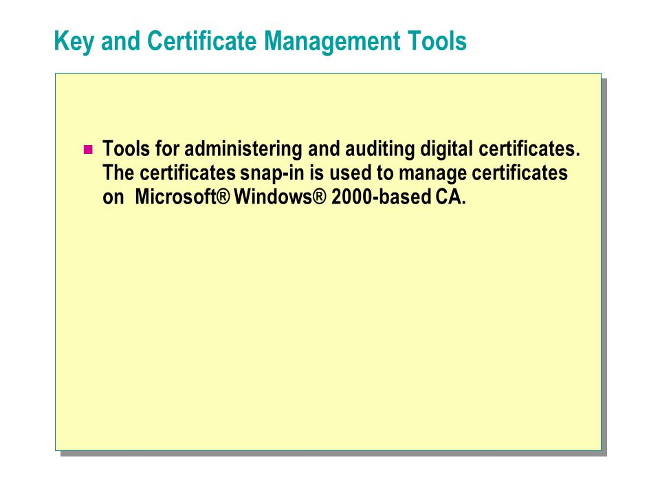Goal In this exercise, the successful revocation of the former employees certificates is verified.