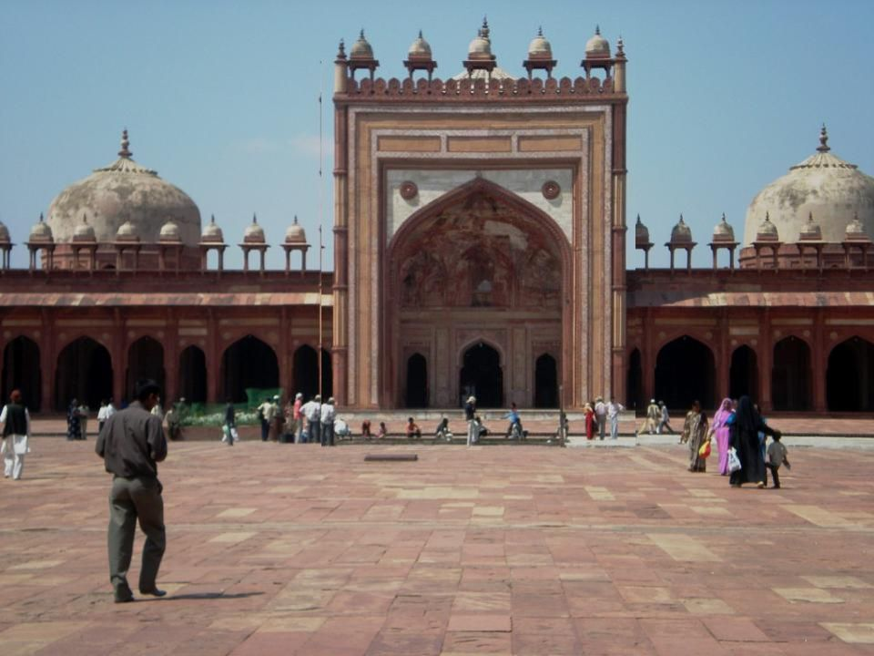 FATEHPUR SIKRI Emperor Akbar planned this city as his capital but shortage of water compelled him to abandon it Today is a Ghost city , only visited by tourists.