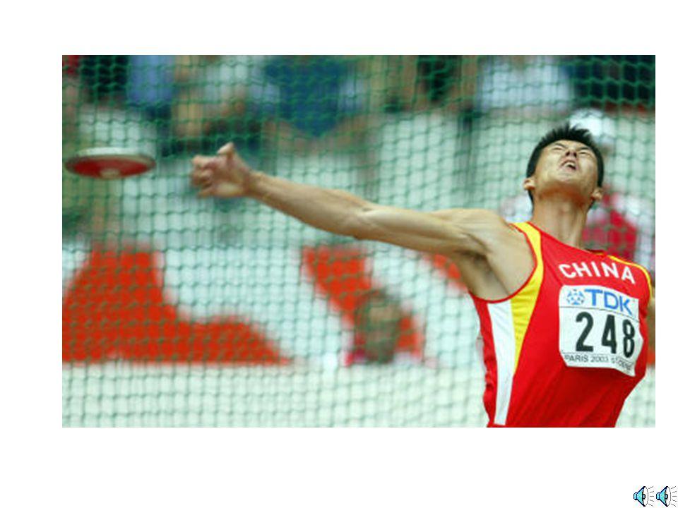田徑運動 Athletics discus throw 擲鐵餅 Discus Throw