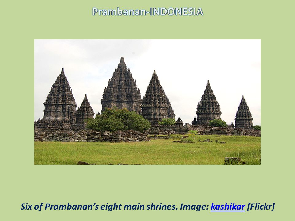 Prambanan is a Hindu temple in Central Java, Indonesia.