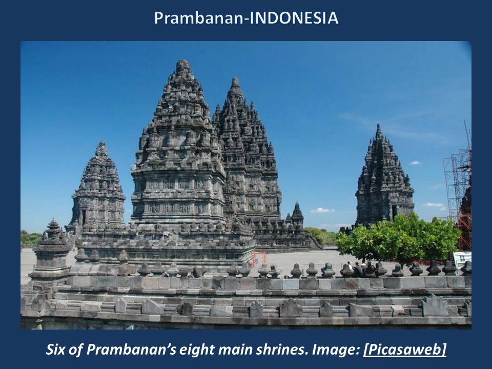 3.Prambanan Prambanan's main complex. Image: Rosino [Flickr]
