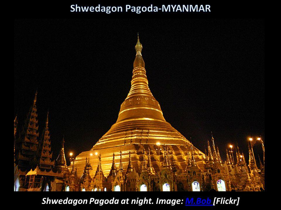 Image: hmhines [Picasaweb] Ceiling of the Shwedagon Pagoda-MYANMAR