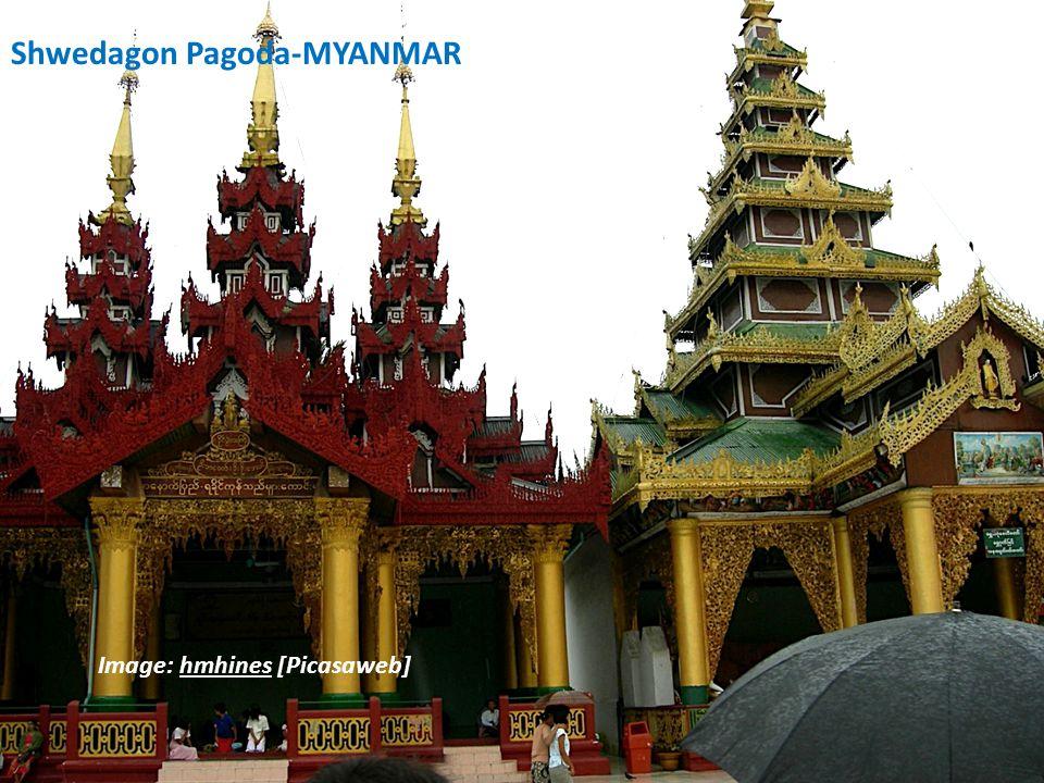 4.Shwedagon Pagoda Shwedagon Pagoda at night. Image: M.Bob [Flickr]