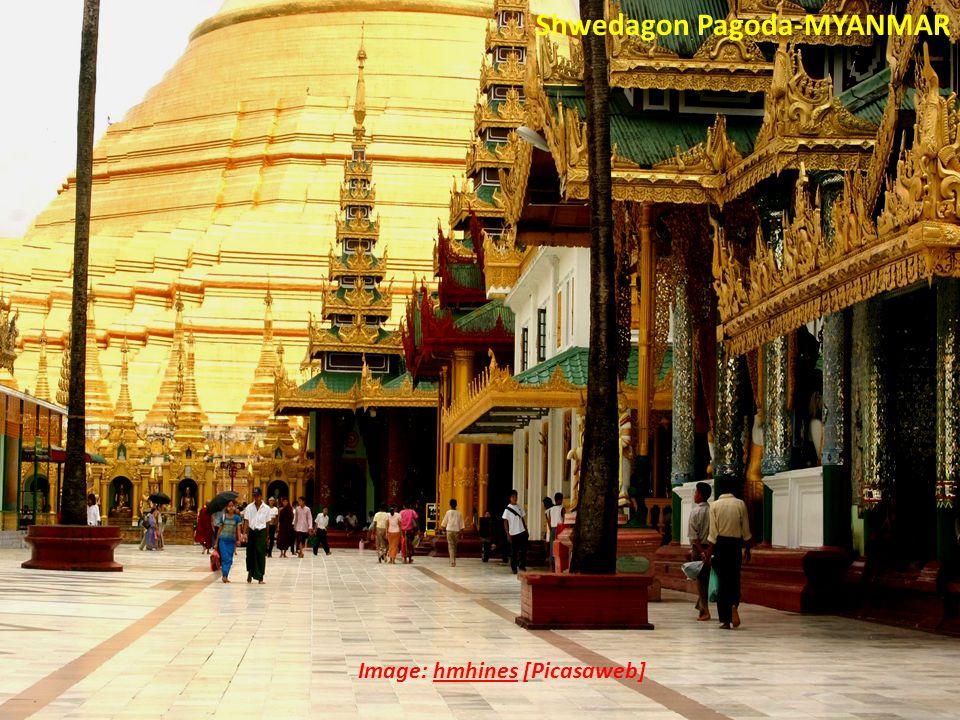 Image: hmhines [Picasaweb] Shwedagon Pagoda-MYANMAR