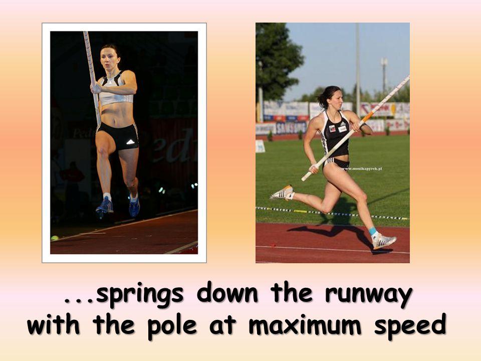 ...needs a long flexible pole