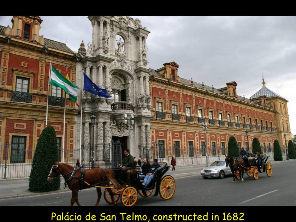 Casa de Pilatos - The construction is a blend of Baroque, Renaissance and Mudéjar styles