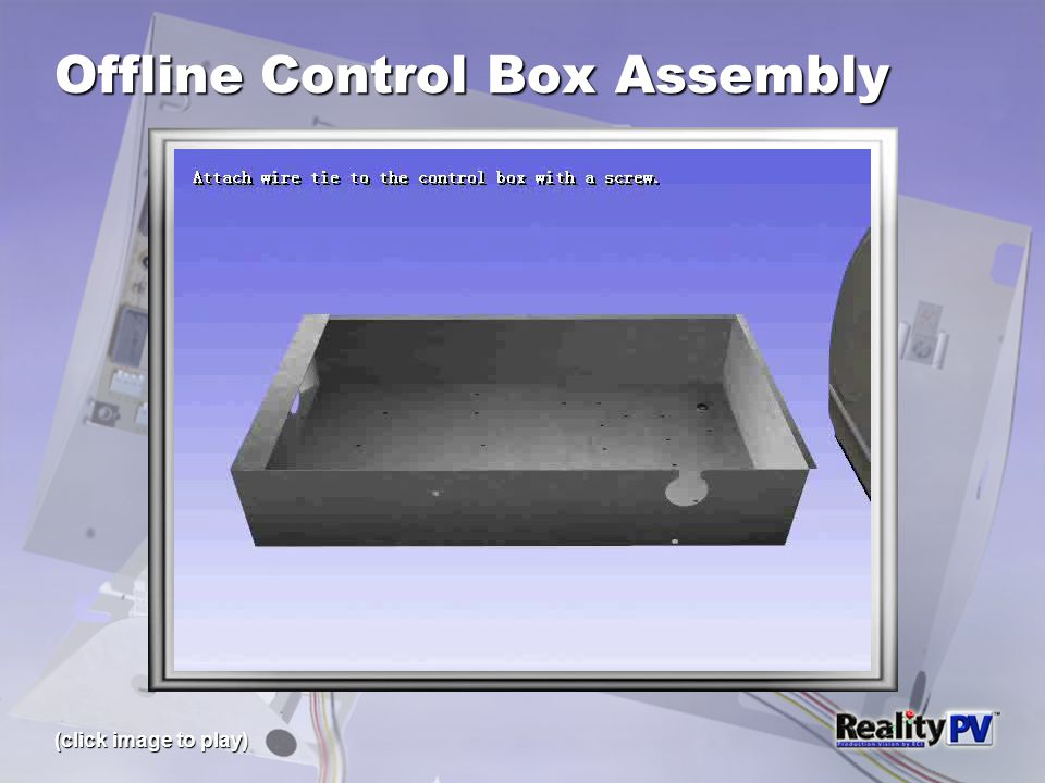 Offline Control Box Assembly (click image to play)