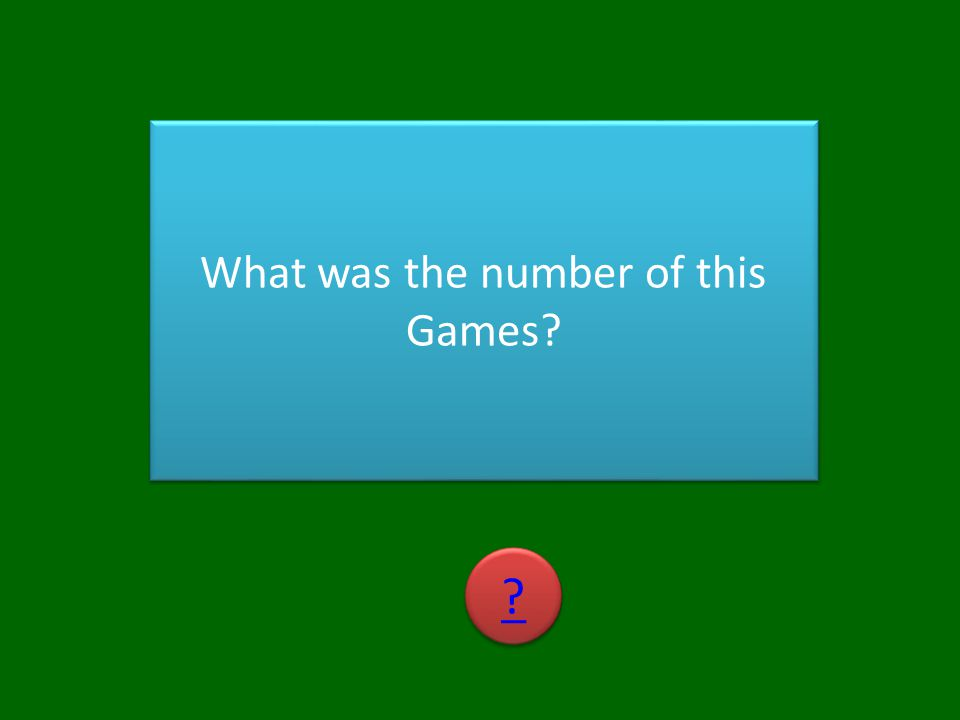 What was the number of this Games