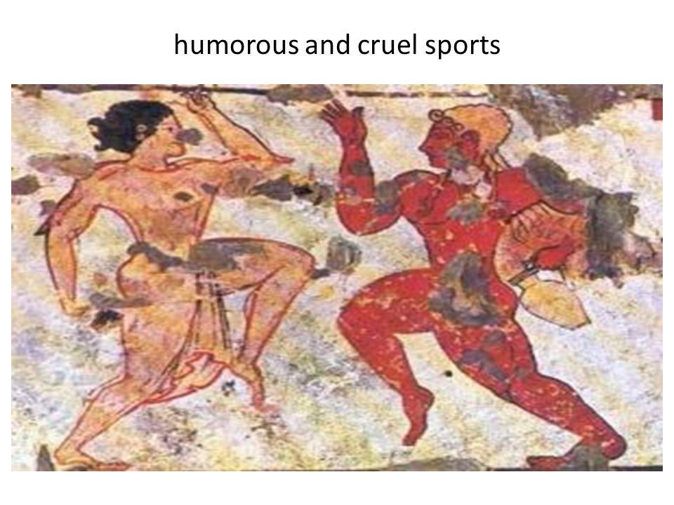 humorous and cruel sports
