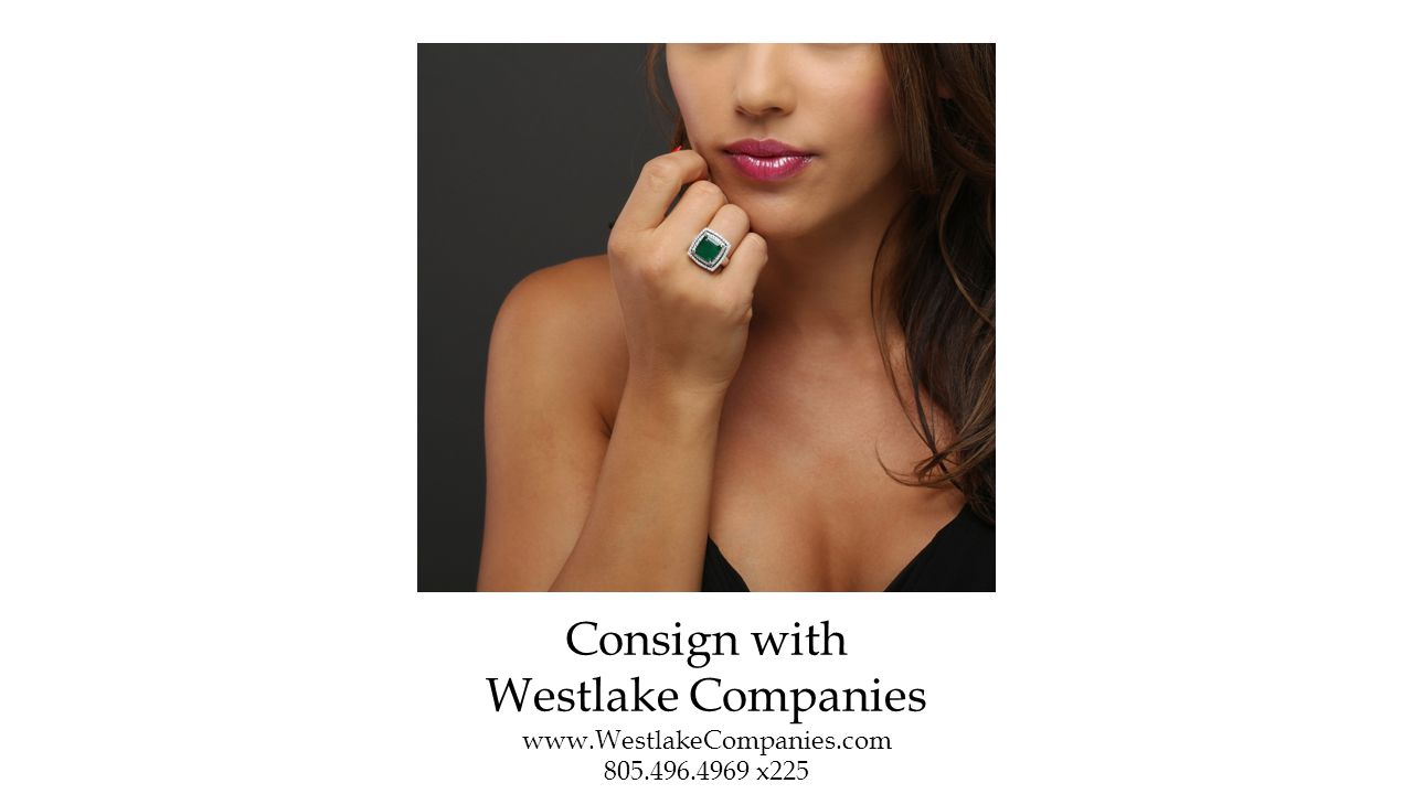 Consign with Westlake Companies www.WestlakeCompanies.com 805.496.4969 x225