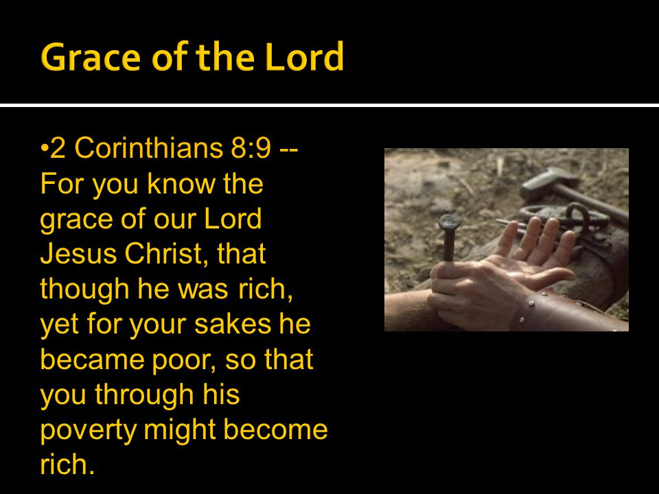 So too, at the present time there is a remnant chosen by grace.