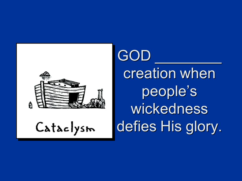 GOD SENDS people to declare His glory. Acts