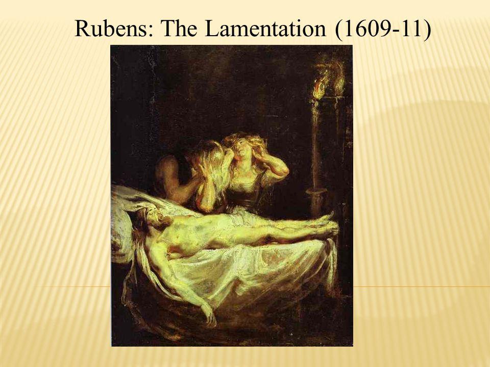 Rubens: The Lamentation (1609-11)