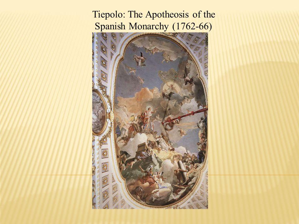 Tiepolo: The Apotheosis of the Spanish Monarchy (1762-66)