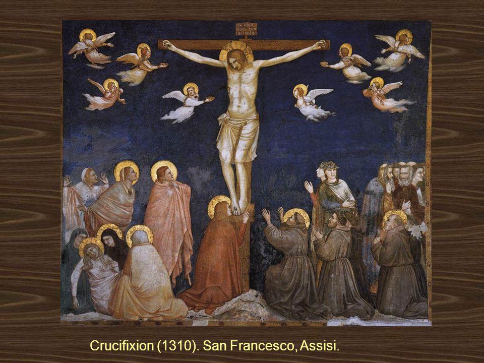 Crucifixion (1310). San Francesco, Assisi.