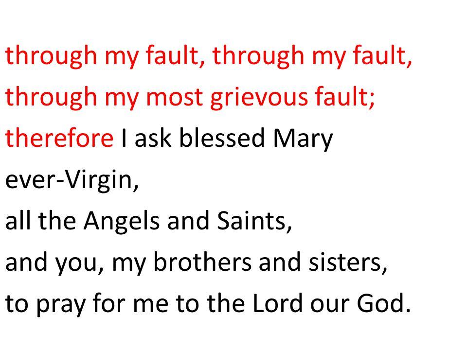 I believe in one, holy, catholic and apostolic Church.