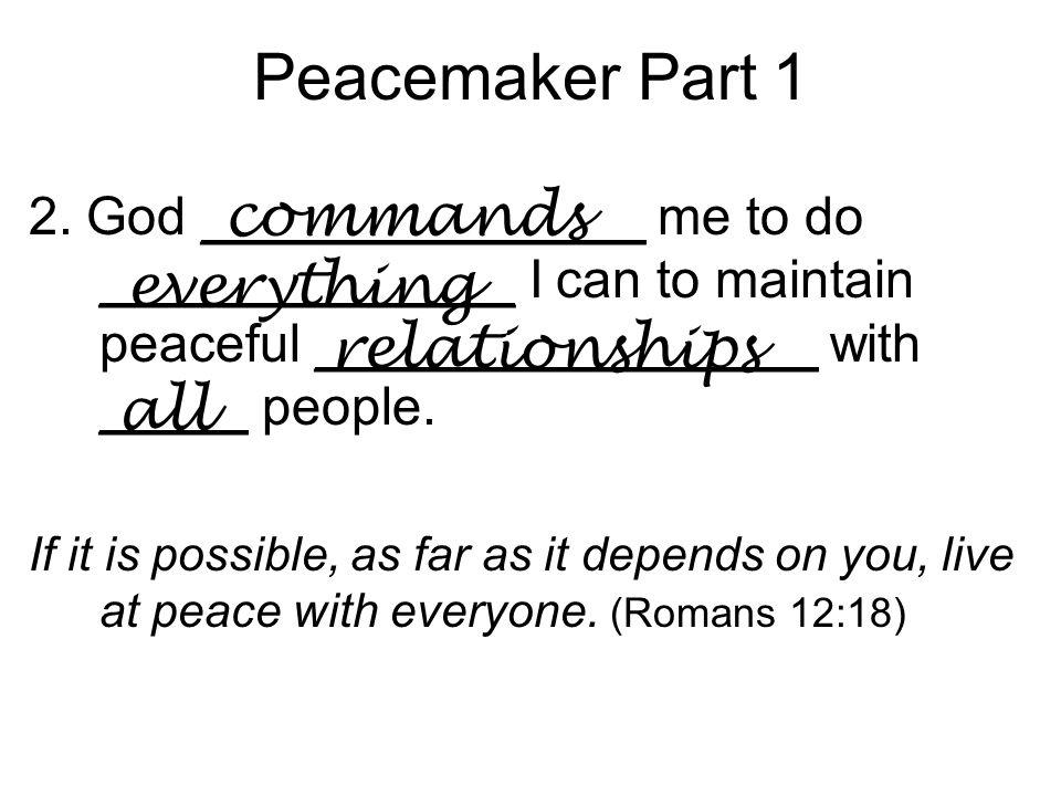 Peacemaker Part 1 7.