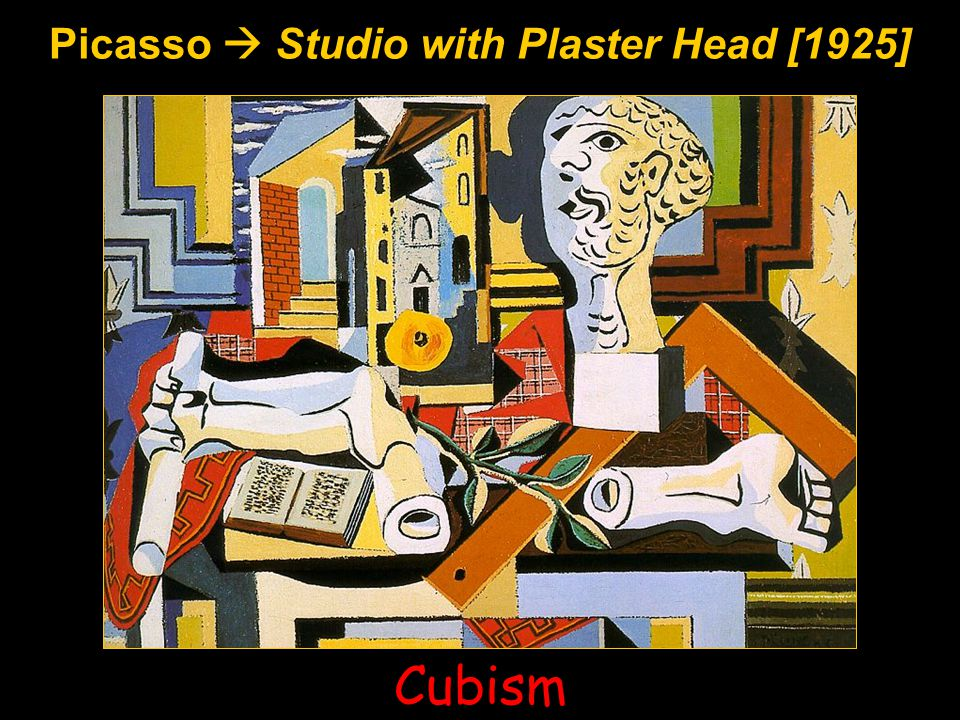 Picasso  Studio with Plaster Head [1925] Cubism