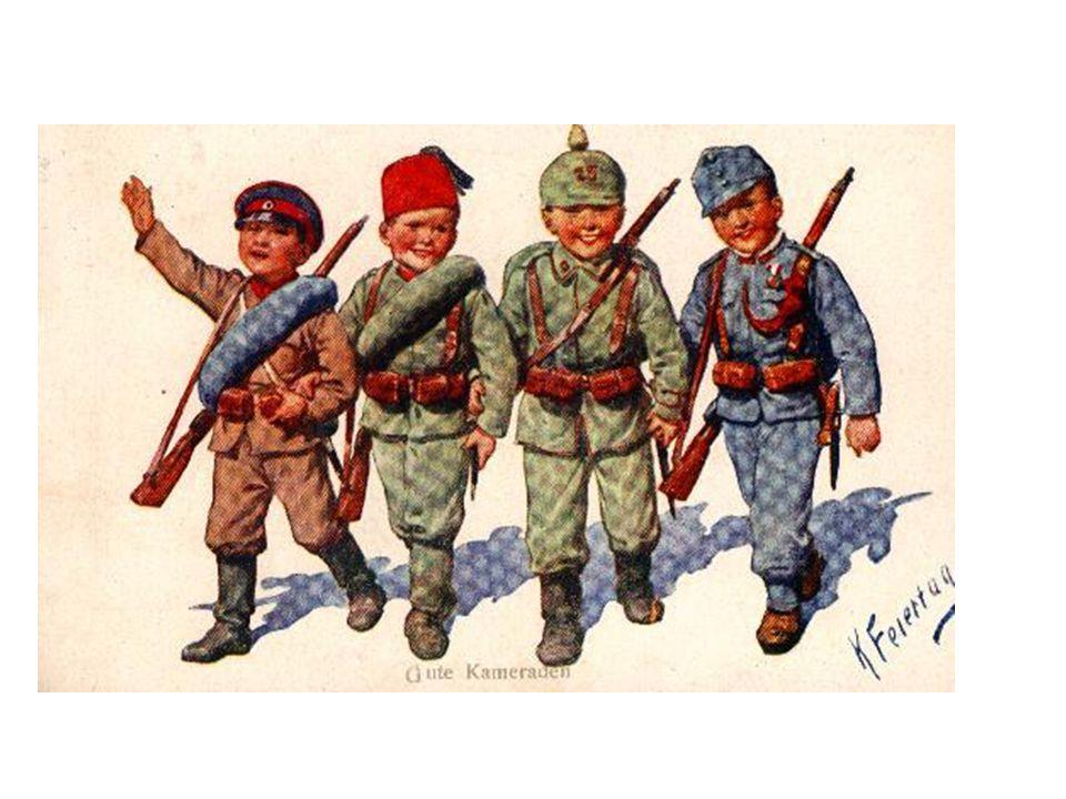 Alliance-Central Powers- Propaganda Postcards