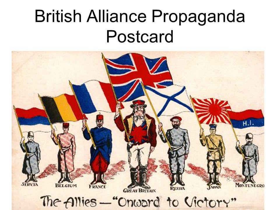 German Propaganda on Alliances