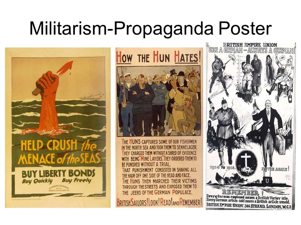 Militarism-Propaganda Postcards