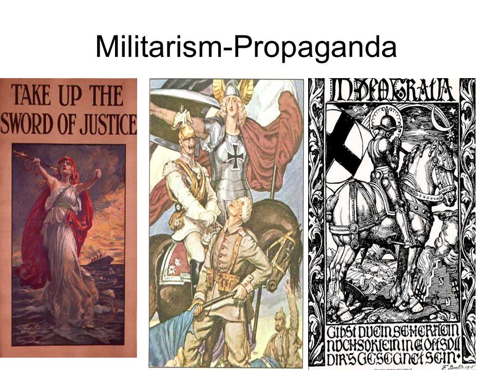 Militarism-Propaganda Poster