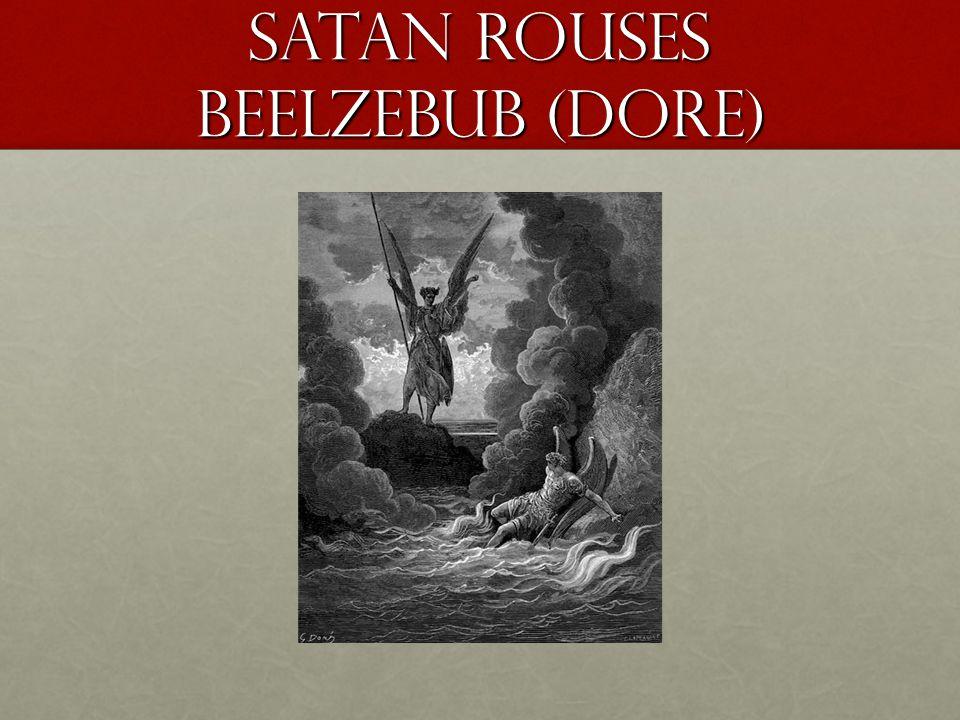 Satan rouses Beelzebub (Dore)