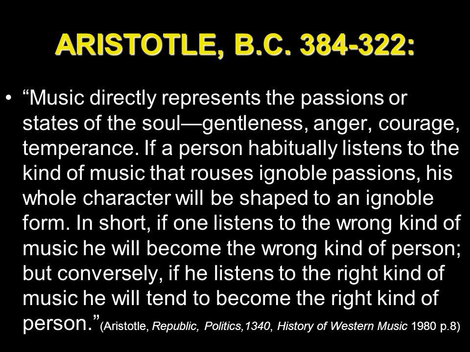 ARISTOTLE, B.C.