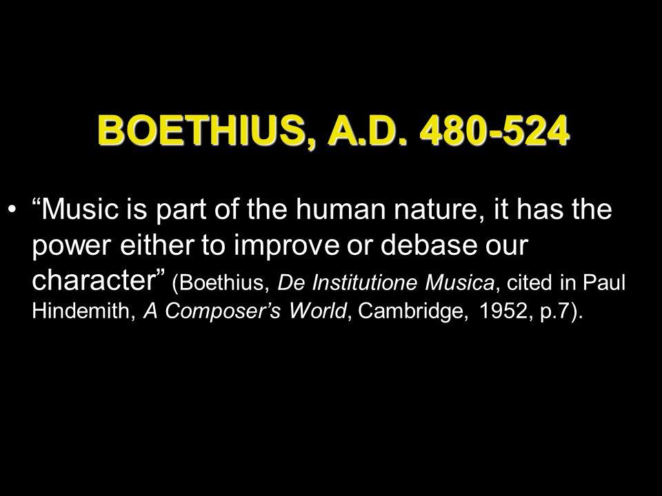 BOETHIUS, A.D.