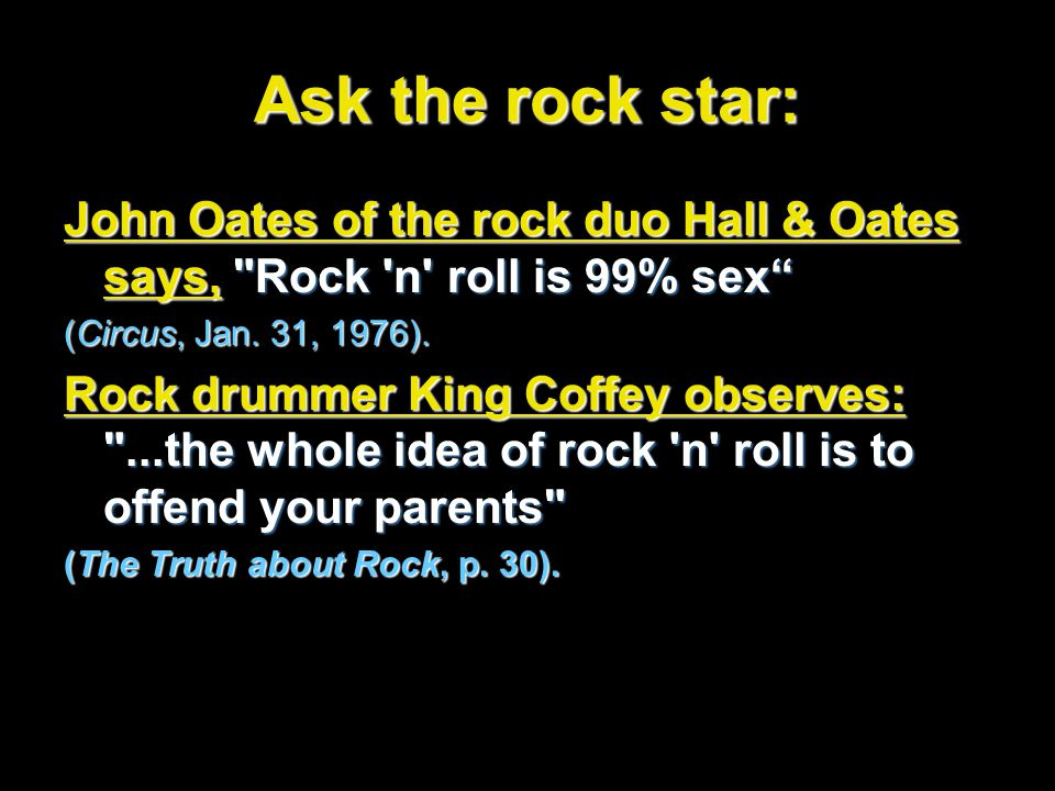 Ask the rock star: John Oates of the rock duo Hall & Oates says,
