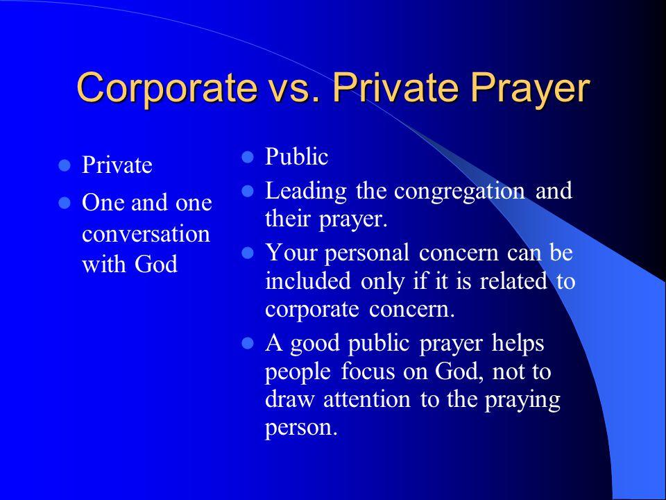 Corporate vs.