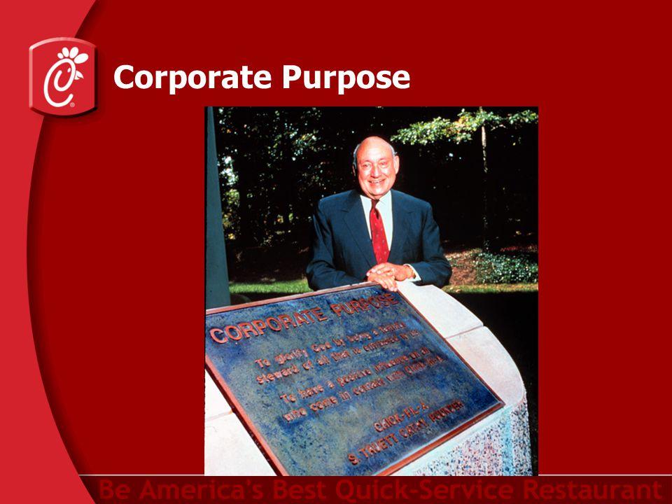Corporate Purpose